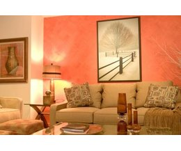 Living room wall decorations with pictures ehow for Colores de pintura para sala