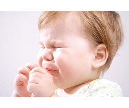If your baby is sniffling and sneezing keep an eye on him for