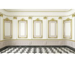 wall molding decorating ideas with pictures ehow
