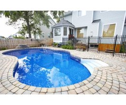 How much does an inground pool cost ehow for Average cost of swimming pool inground