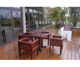 decks make nice outdoor areas for you to sit or stand and take in some