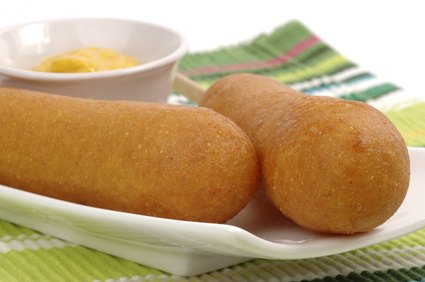 Andouille corndogs have secret creole spices to shake up your baseball ...