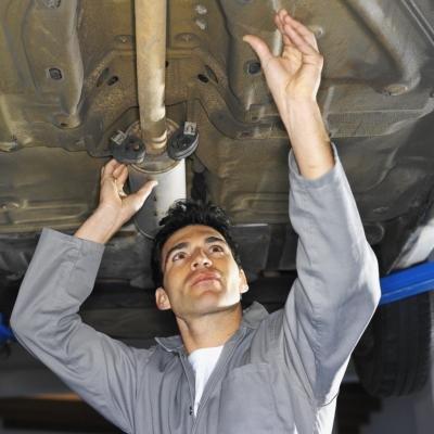 Tips on Loosening Exhaust Head Nuts
