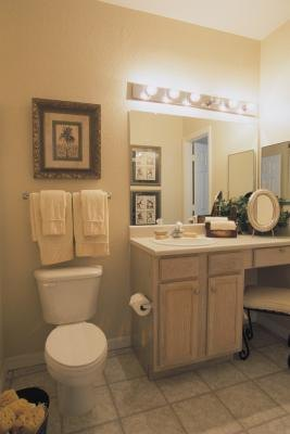 height location and installation of a vanity light