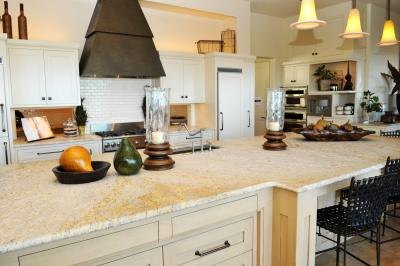 Hard Countertop Materials : Granite is an extremely hard material.(Naomi Bassitt/iStock/Getty ...
