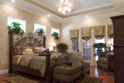 earth tones can be romantic when you use lighter colors kentweakley
