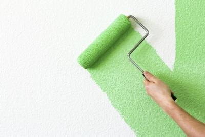Green paint may look good with a green carpet or furniture.(Mariusz ...