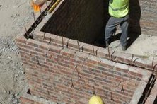 Brickmasons may apprentice for up to four years, according to the Bureau of Labor Statistics.