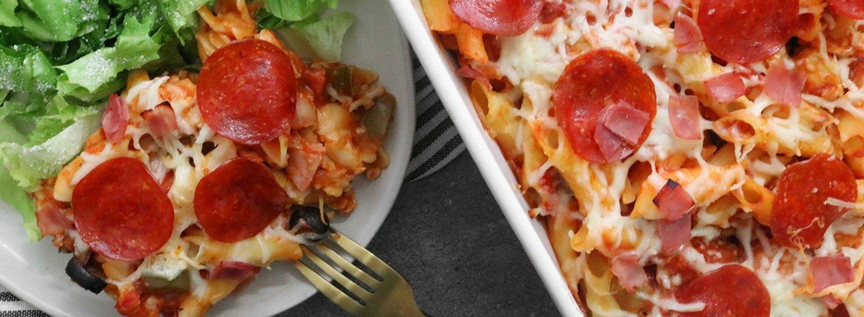 Easy Pizza Casserole Recipe