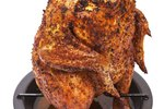 How to Roast Chicken on a Stand-Up Rack