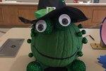 Crafty Pumpkin Spotlight: Melinda Gutierrez Burton's Frog Pumpkin