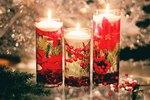 DIY Floating Holiday Candles