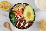 Smoky Chickpea Buddha Bowl with Tahini Sauce Recipe