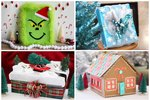 These 12 Awesome DIY Gift Wrap Ideas Will Knock Your Socks Off