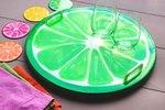 DIY Fruit Slice Serving Tray & Coasters