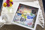 A DIY Shadow Box to Capture Road Trip Memories
