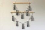 DIY Tassel Wall Hanging Decor
