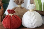 DIY Decorative Pumpkins from Old Sweaters