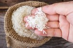 The Parts of Rice Grains