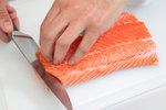 How to Pan-Fry Salmon Steaks