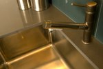 How to Repair a Stainless Steel Sink That Is Discolored