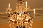 DIY: Crystal Chandelier for a Wedding
