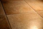 How to Remove Yellow Stains From Floor Tile