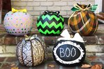 5 Festive Pumpkin Decorating Ideas (No Carving Required!)
