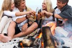 How to Throw a Beach Bonfire Party