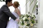 Elegant Wedding Column Decorations