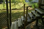 How to Build Wooden Steps