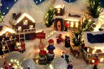 Ideas for How to Decorate With Christmas Villages