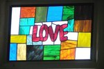 Stained Glass With Wax Paper & Crayon Crafts