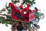 How to Paint a Sleigh for Christmas