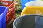 How to Paint Plastic Buckets