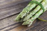 Uses for the Woody Stems of the Asparagus Plant