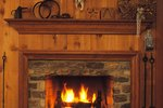 Can You Put Wood Trim Around a Gas Fireplace?