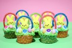 DIY Easter Basket Cupcakes