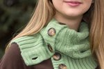 How to Create a Cozy Cardigan Cowl and Boot Socks From an Old Sweater