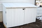 How to Make an Outdoor Garbage Can Shed