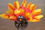 How to Make a Pinecone Turkey Craft