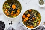Wild Rice Soup in an Instant Pot Recipe