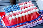 How to Make a Cake Pop Patriotic Flag Centerpiece