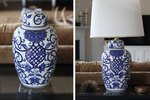 How to Turn a Ginger Jar Into a Lamp