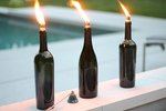 How to Make a Wine Bottle Tiki Torch