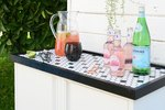 Make This Cool Outdoor Buffet (With Removable Tray Top!)