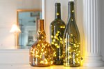 How to Put Christmas Lights in a Wine Bottle