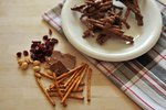 How to Make Chocolate Pretzel Haystacks