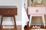Give Your Nightstand a Luxe Look with This Easy Tutorial