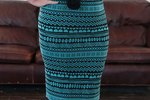 DIY Stretch Knit Pencil Skirt